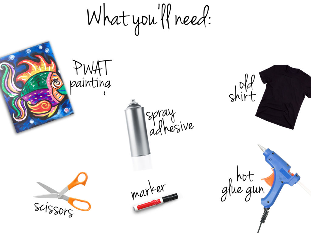 Here is your list of supplies!