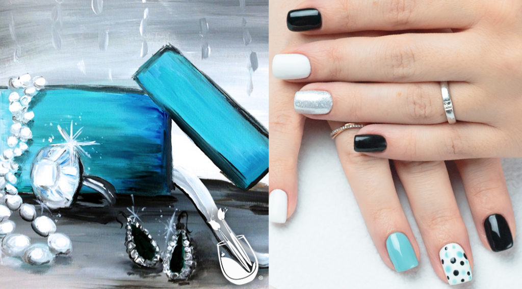 "Painting with a Twist's ""Frost Yourself"" Nail Styles"