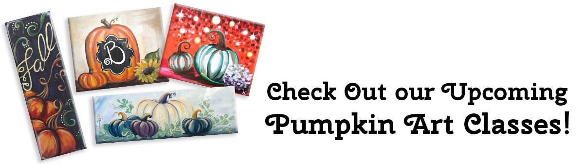 Pumpkin Art Classes