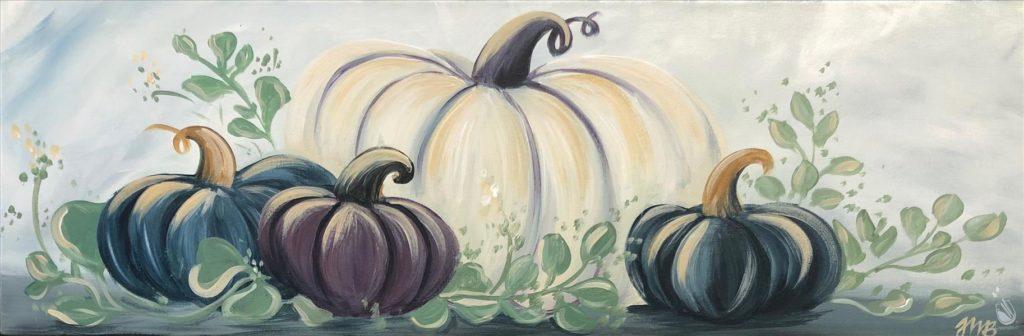 Autumn Pumpkin Art