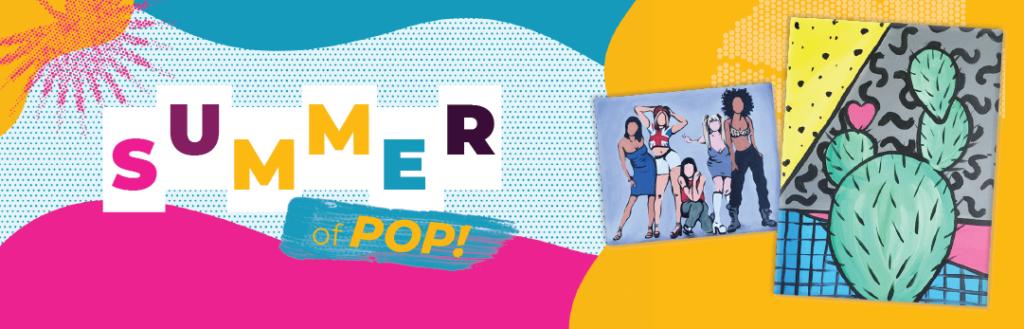 Summer of Pop paintings