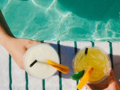 poolside cocktails