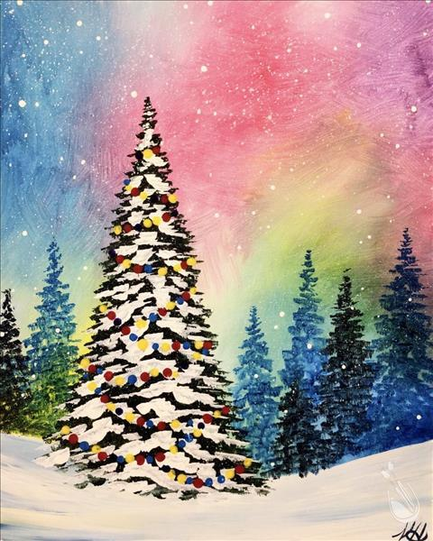 Bright Christmas Painting