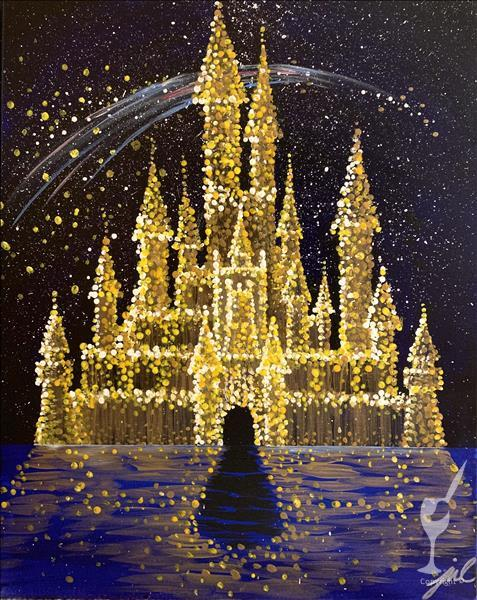 Dream Castle Painting